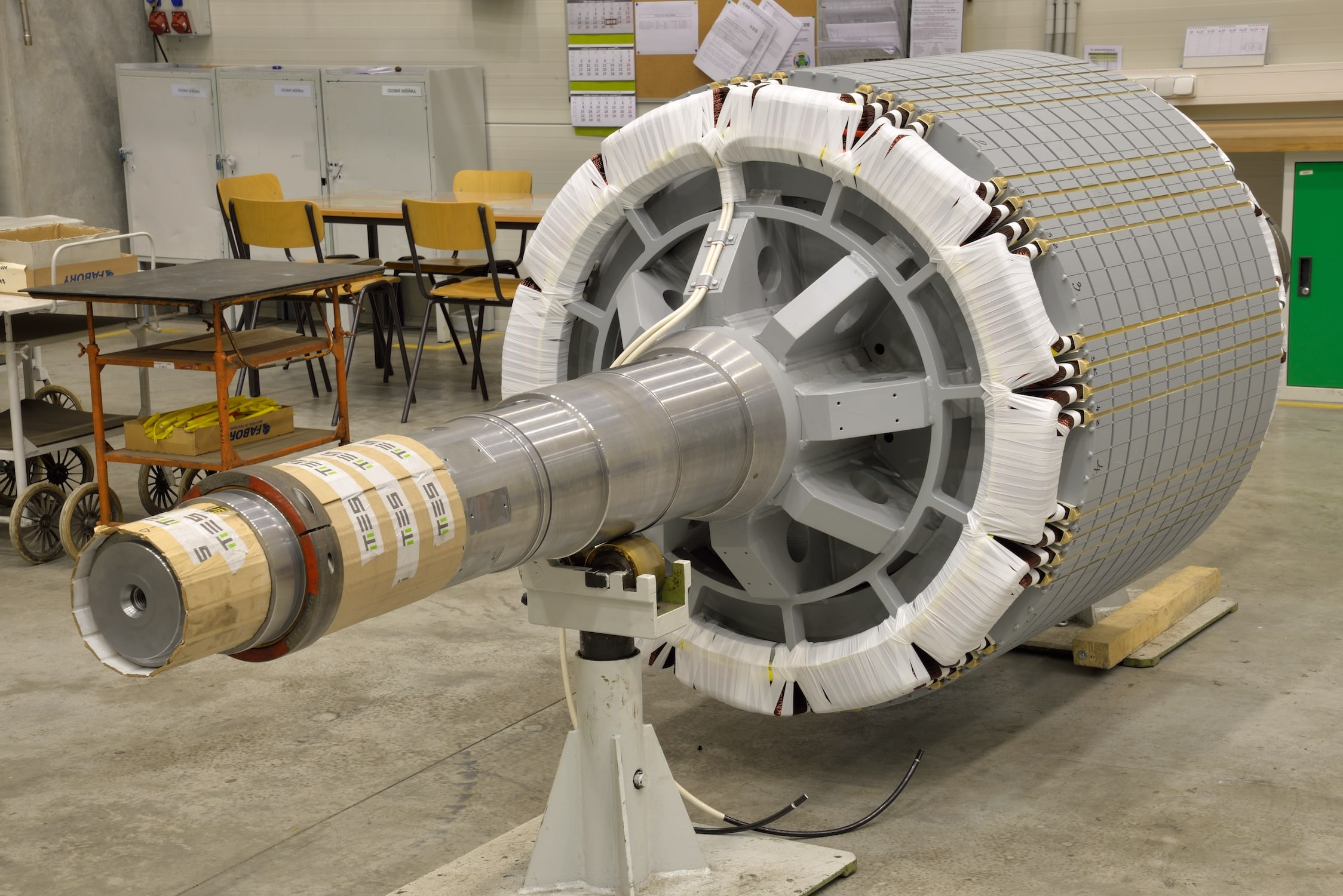 Rotor & Stator Packets